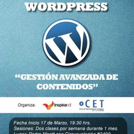 Curso de Gestión Avanzada Wordpress