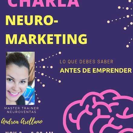Charla gratuita de NeuroMarketing - Lo que debes saber antes de emprender