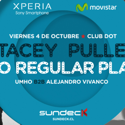 SUNDECK presenta STACEY PULLEN & NO REGULAR PLAY
