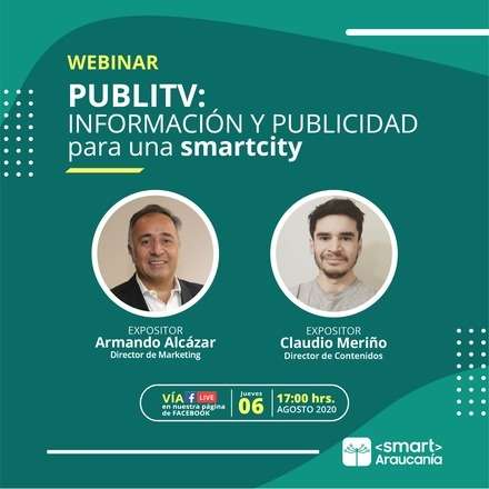 Webinar: Información y publicidad para una Smart City
