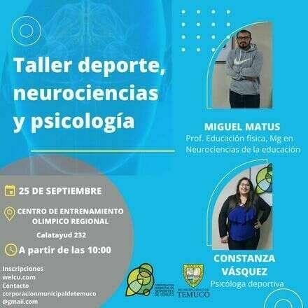 Taller de Deporte, Neurociencias y Psicología