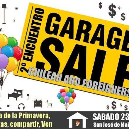 2º Encuentro y Fiesta de la Primavera - Comunidad Garage Sales Chilean and Forigners