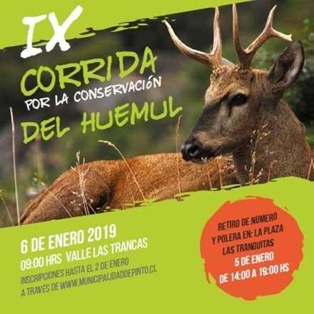 IX CORRIDA POR LA CONSERVACIÓN DEL HUEMUL