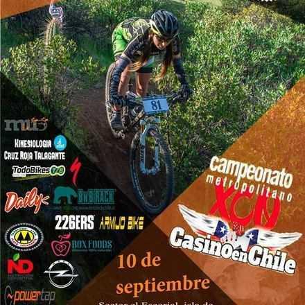 5ta fecha Campeonato Metropolitano de XCO Casino en Chile Naltahua MTB Isla de Maipo