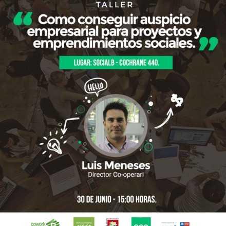 Como conseguir auspicio empresarial para proyectos y emprendimientos sociales