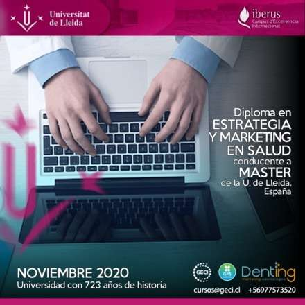 Diplomado Experto en Estrategia y Marketing en Salud Universidad de Lleida Online