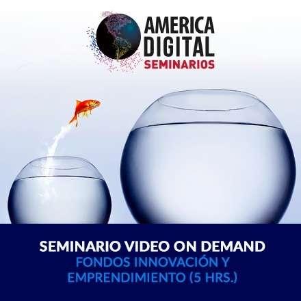 Seminario VOD fondos innovacion emprendimiento CORFO