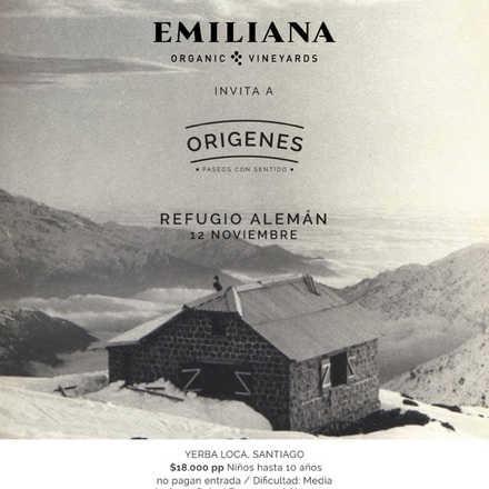 Origenes - Trekking Refugio Aleman