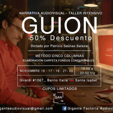 Workshop de Guion