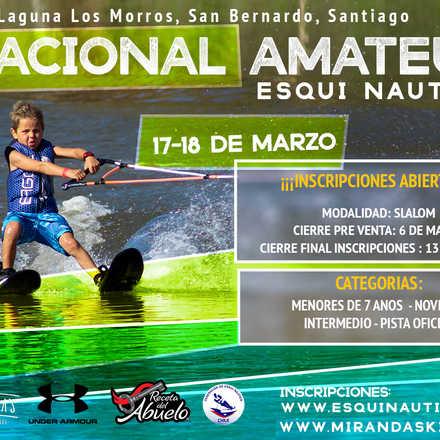 Nacional Amateur Esquí Náutico 2018