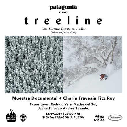 Treeline + Charla expedición Fitz Roy