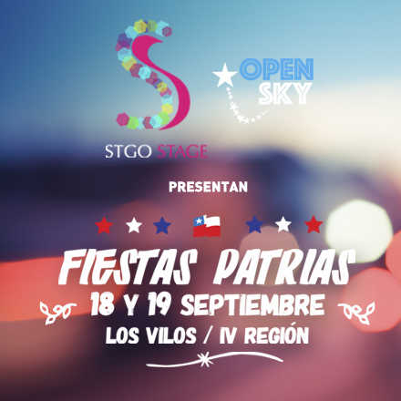 Fiestas Patrias Open Sky By Stgo Stage