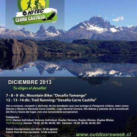 HI-TEC Outdoors Week, Cerro Castillo - Diciembre 2013