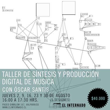 Taller de Síntesis y Producción Digital de Música – Oscar Santis