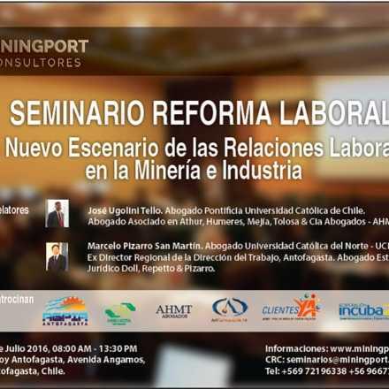SEMINARIO LABORAL 2016. Un nuevo escenario para la productividad y las relaciones laborales