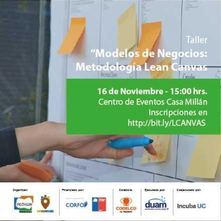 Taller Modelos de Negocios: Metodología Lean Canvas