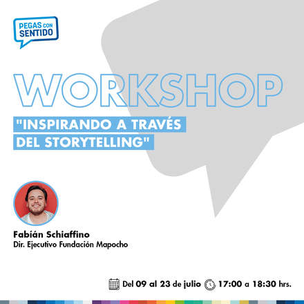 "Workshop Online: ""Inspirando a través del Storytelling"""