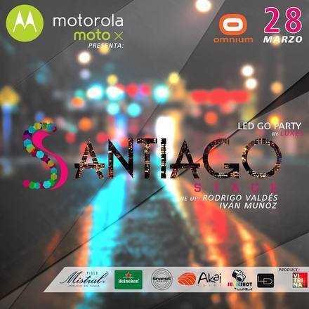"""★ MOTOROLA PRESENTA ★ SANTIAGO STAGE  """"LED GO PARTY"""""""