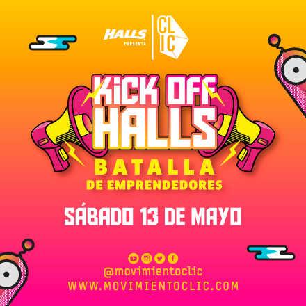Kick Off Halls - Batalla de Emprendedores (Evento Gratuito)