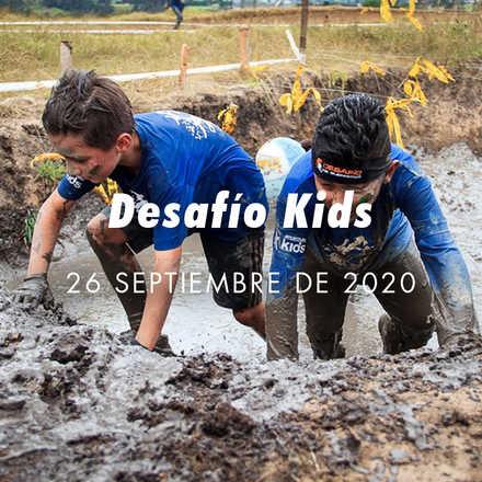 Desafío de Guerreros Kids Bogotá