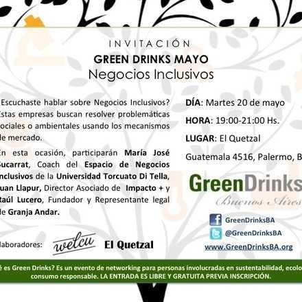 Green Drinks Buenos Aires / Negocios Inclusivos