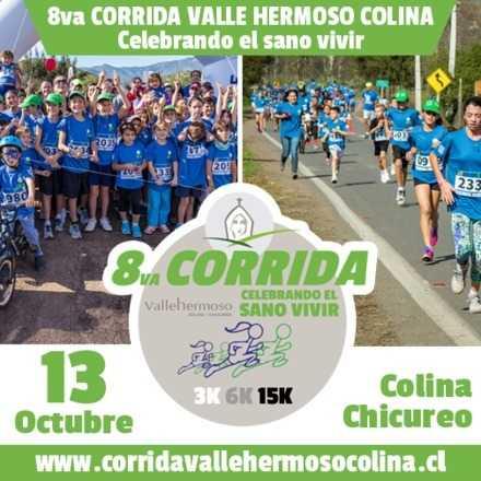 CORRIDA VALLE HERMOSO COLINA - CELEBRANDO EL SANO VIVIR