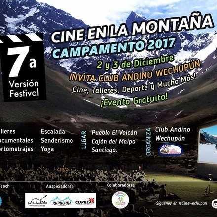 7ª Versión Cine en la Montaña Club Andino Wechupun
