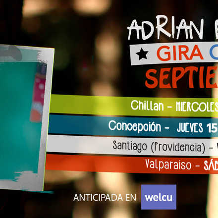 Adrian Berra (Arg) en Santiago de Chile