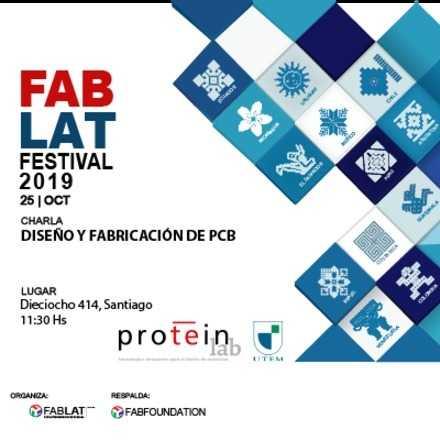 """Charla """"Diseño y Fabricación de Prototipos Electrónicos en ProteinLab UTEM"""""""
