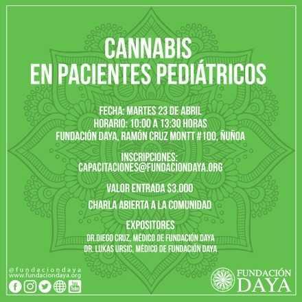 Taller Cannabis en Pacientes Pediátricos