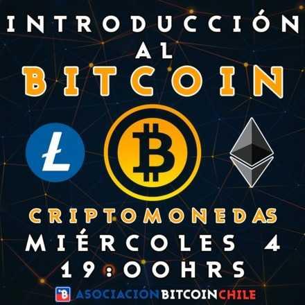 Introducción al Bitcoin y las Criptomonedas - 4 de Septiembre