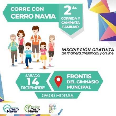 2da Corrida Familiar Cerro Navia