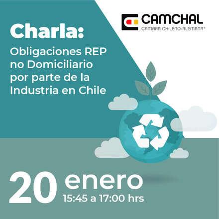 Charla: Obligaciones REP no Domiciliario por parte  de la Industria en Chile