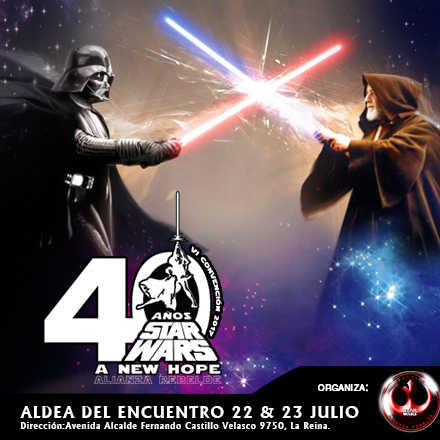 40 AÑOS STAR WARS Alianza Rebelde