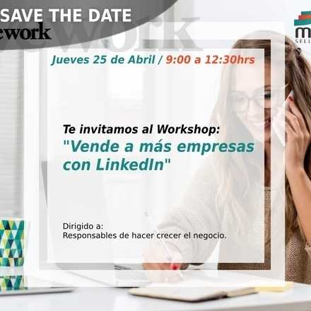 Workshop: Vende a más empresas con LinkedIn