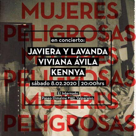 CICLO Mujeres Peligrosas: Javiera y Lavanda · 8.02.2020