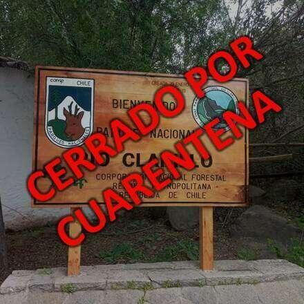 Reservas para el ingreso al Parque Nacional Río Clarillo Sábado  27 de Feb.