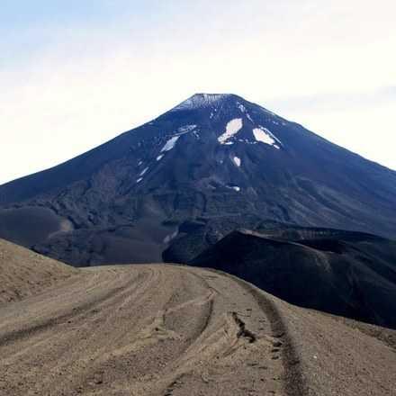 """Trekking:"""" Cráter Navidad"""" Volcán Lonquimay"""