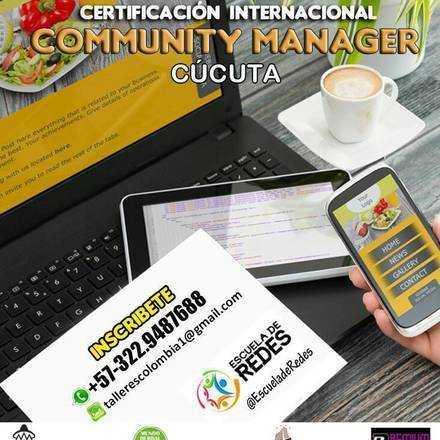 COMMUNITY MANAGER                                                                                                                            (CERTIFICACIÓN INTERNACIONAL)