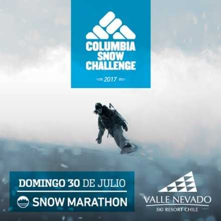 SNOW MARATHON - Columbia Snow Challenge 17'