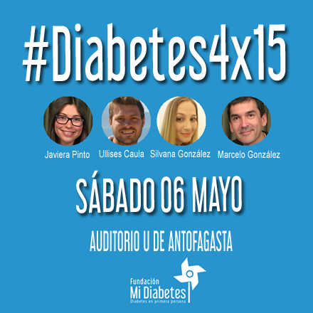 #Diabetes4x15