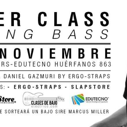 ERGO STRAPS SESSIONS-MASTER CLASS DANIEL GAZMURI
