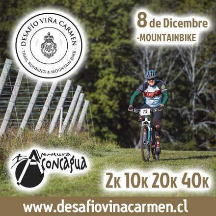 Desafío Viña Carmen - Mountainbike 8 de Diciembre 2019