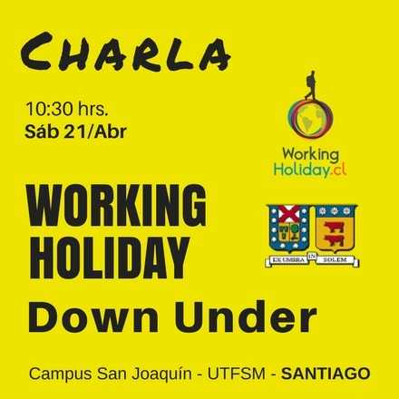Working Holiday Down Under - UTFSM
