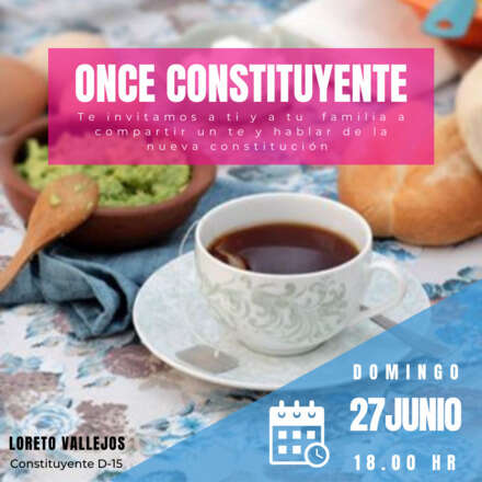ONCE CONSTITUYENTE