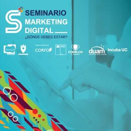 Seminario Marketing Digital ¿Dónde debes estar?