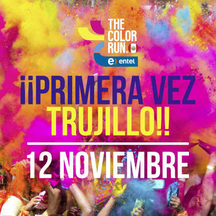 The Color Run Entel -  Trujillo 2017