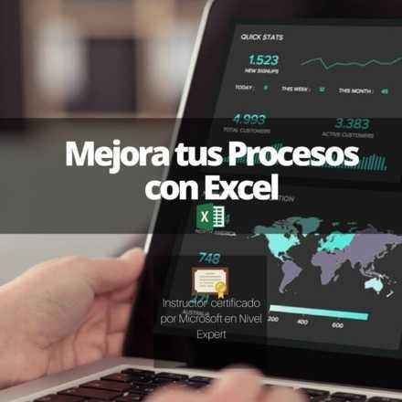Taller: Mejora tus Procesos con Excel (Nivel Intermedio)