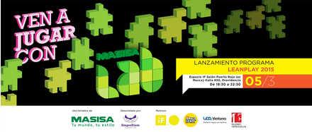 MASISA Lab, lanzamiento programa leanplay 2015