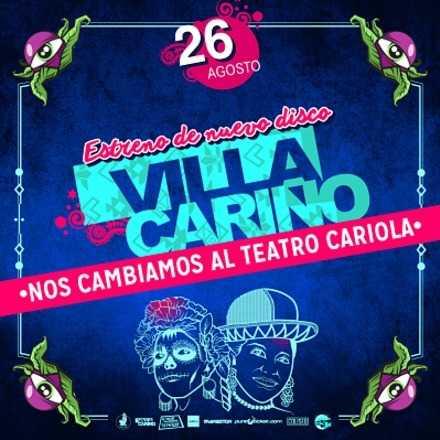 Villa Cariño, Lanzamiento de Disco